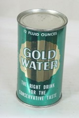 Gold Water soda