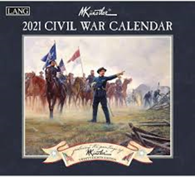 civil war calendar