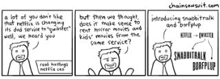 Qwikster cartoon